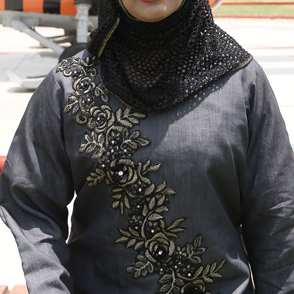 Buy-Front-Embroidered-Denim-Abaya-Online-In-Pakistan.