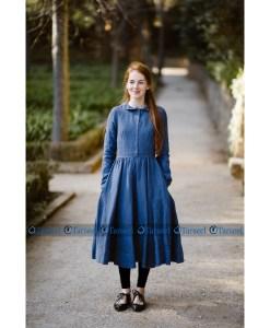 Stylish Designer Short Denim Abaya For Her