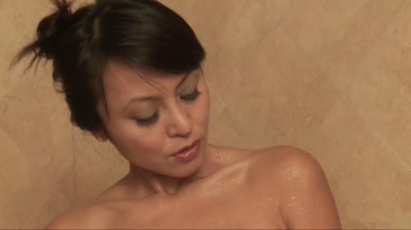Oil shower busty tube