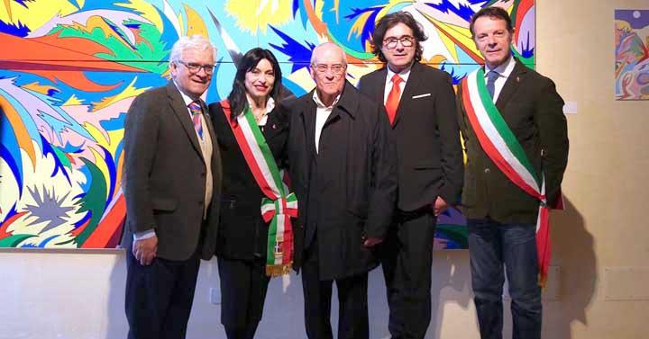 Successo della mostra ospitata al Palazzo del Monte Frumentario organizzata dal Comune e patrocinata dalla Regione Umbria e Comune di Segni