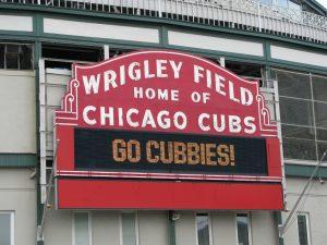 Wrigley Field cheers on Cubs. Courtesy of rpongsaj