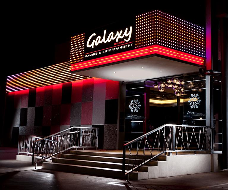 Casino Design  Galaxy Bingo  Tartan Studios