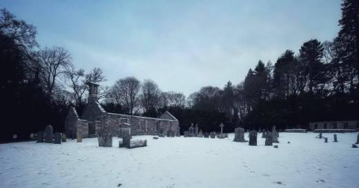 Ruined Church Graveyard Aviemore