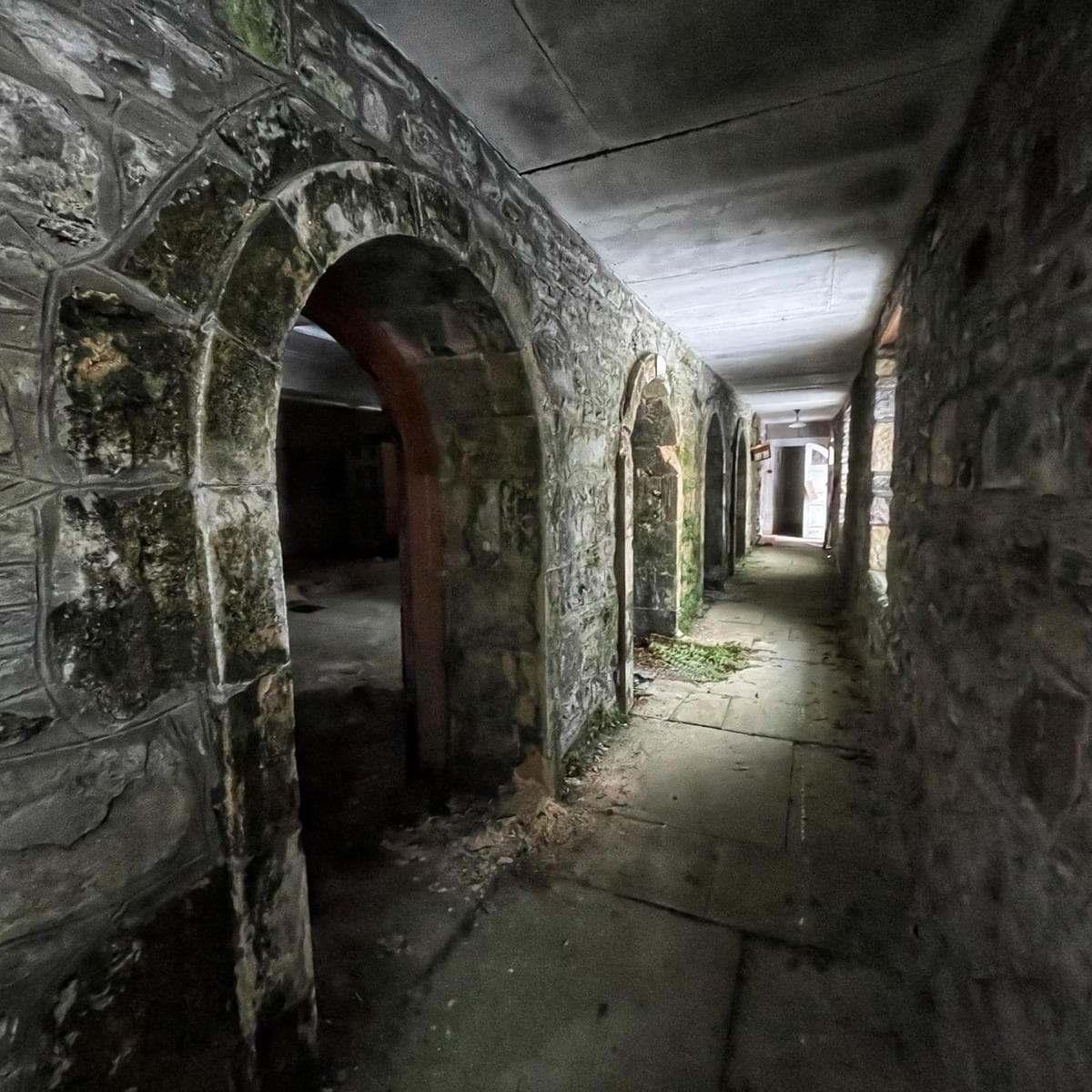 Coco Chanel Stone Hallway Mansion