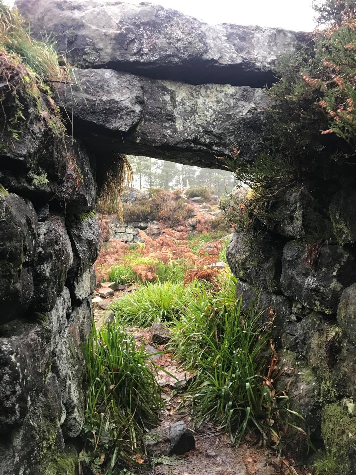 Wall Arch in Tappoch Broch