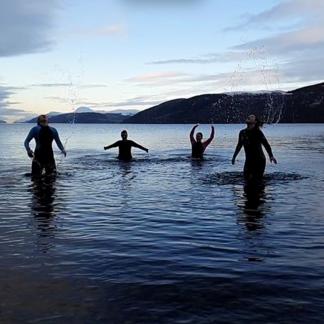 Loch Ness Dip at Dores