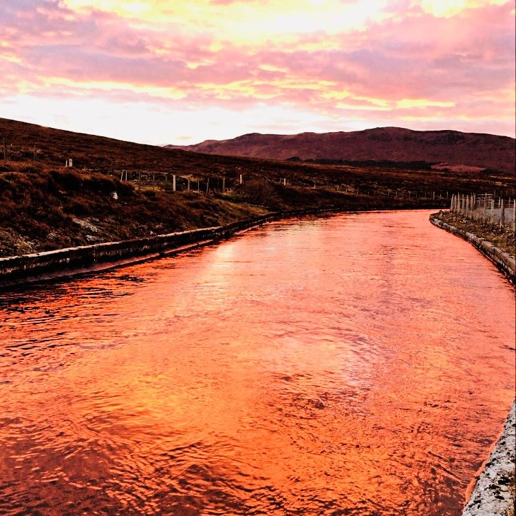 Meall Chuaich Sunset