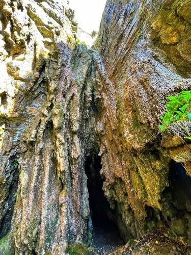 entrance to spar cave