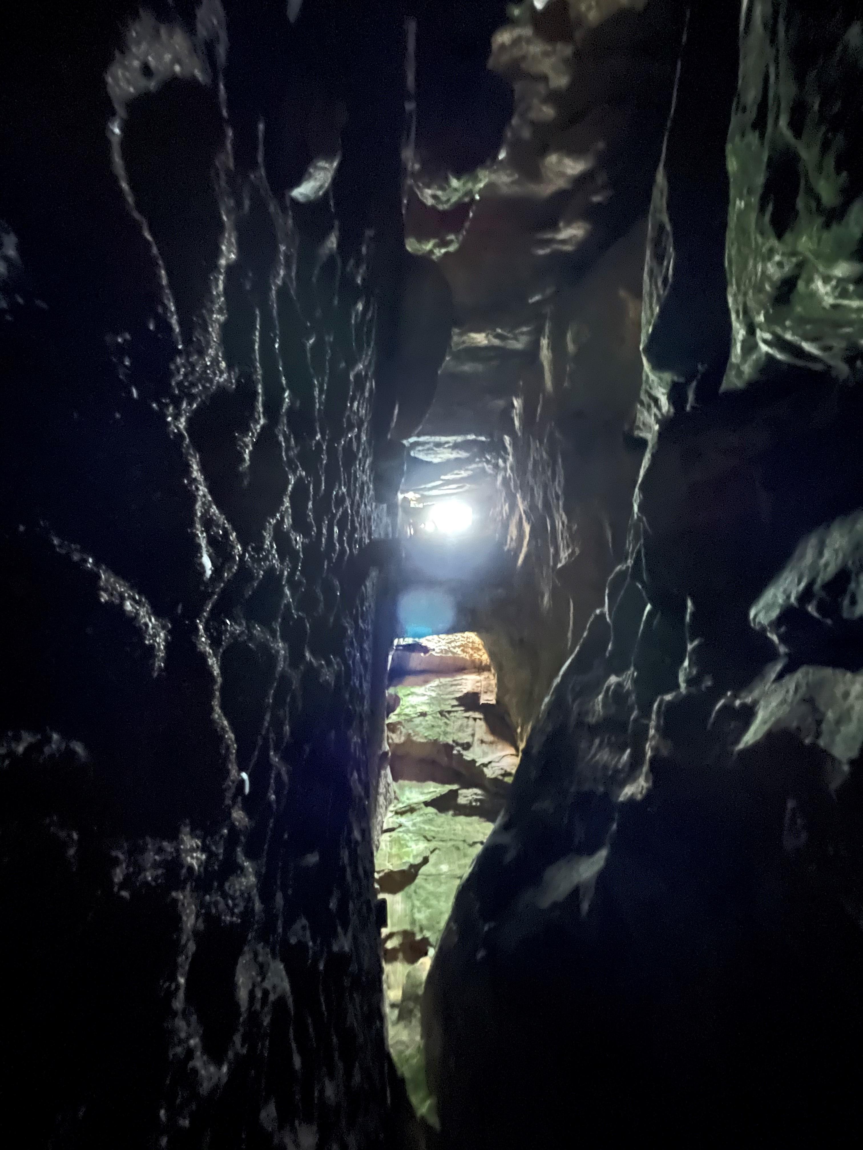 Inside Sculptors Cave