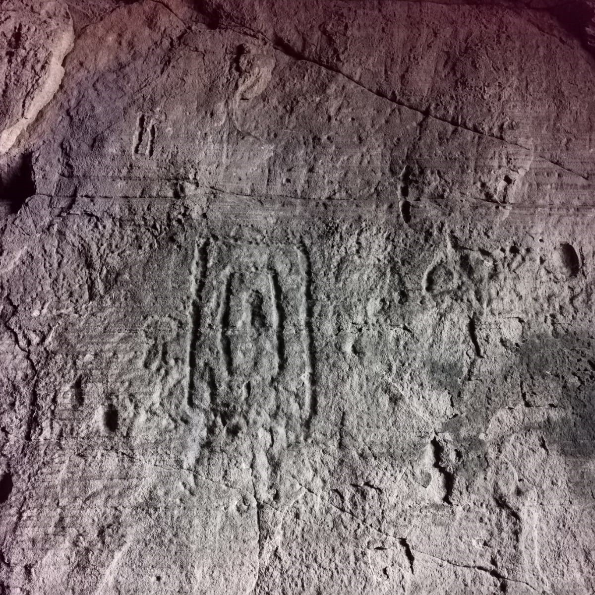Sculptors Cave Carvings
