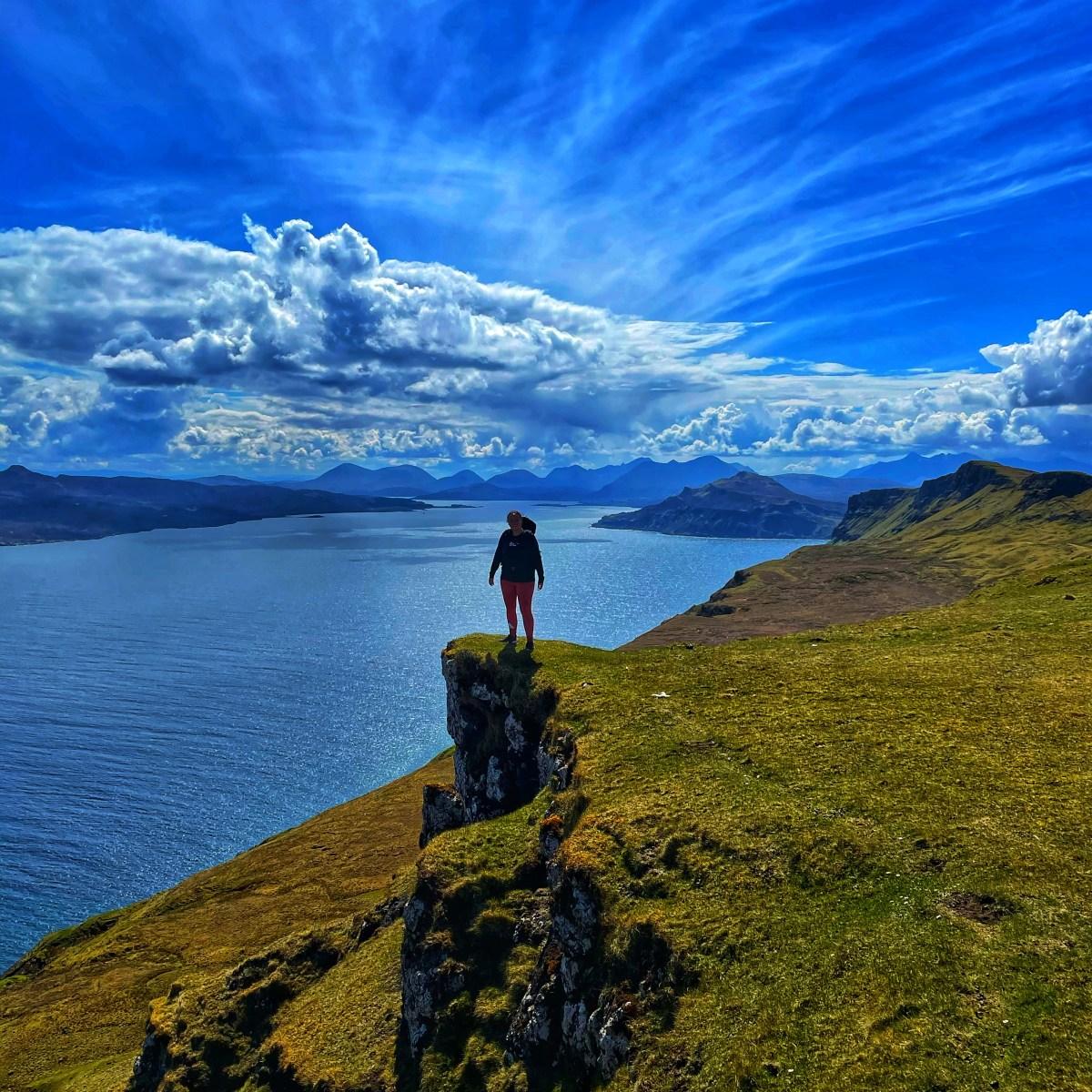 girl on the Skye Trail