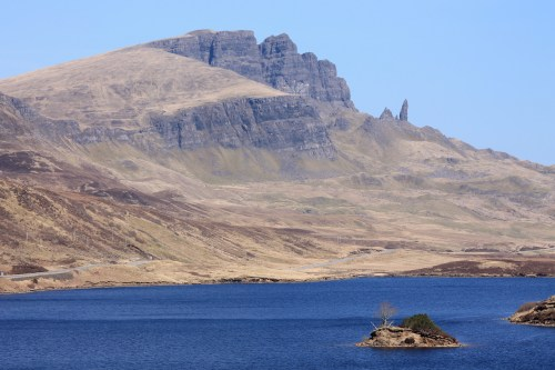 Old man of storr from a distance