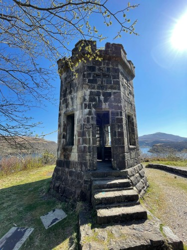 Apothecarys tower in Portree