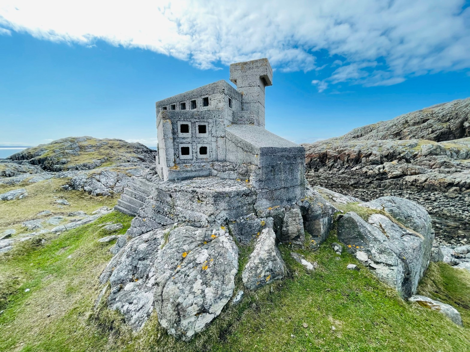 Hermits castle at Achmelvich