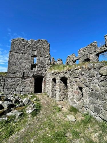 pitsligo castle ruins