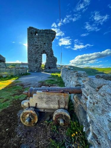 old slains castle ruins
