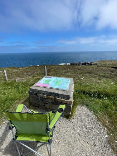 Whale watching on Isle of Lewis