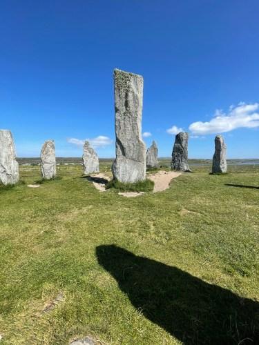 Standing stones on Isle of Lewis