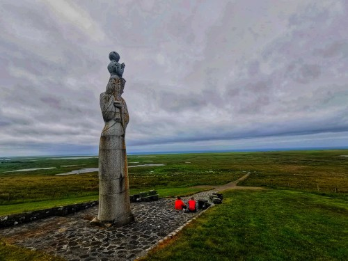 Our lady of the sea statue uist