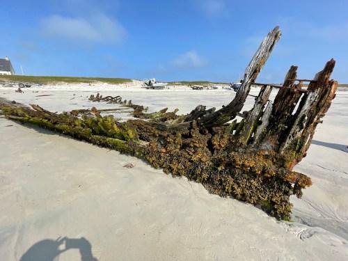 The Mary Stewart shipwreck Scarinish