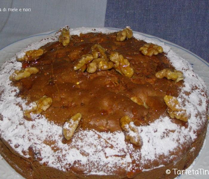 Torta di mele e noci di zia Nerina