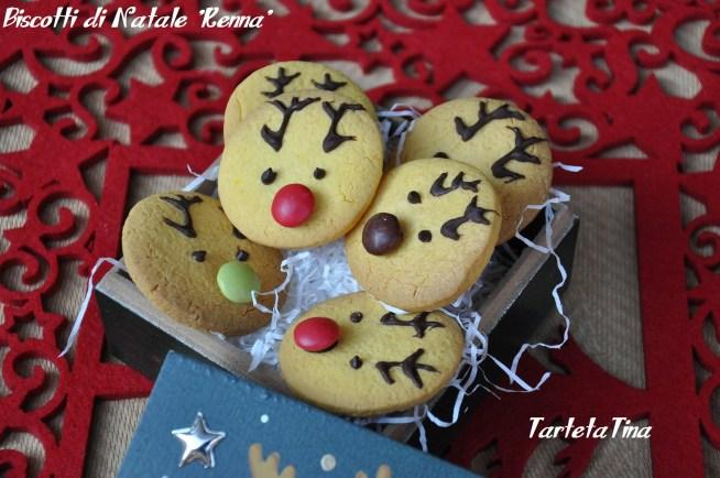 Biscotti di Natale Renna