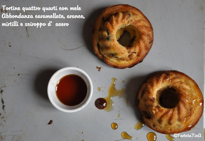 Tortine quattro quarti con mele Abbondanza