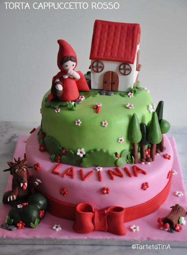 torta cappuccetto rosso