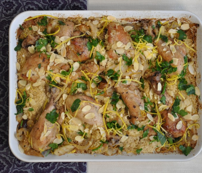 Couscous  marocchino di pollo con datteri