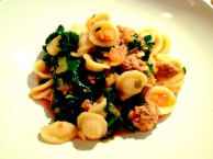 Orrechiette Kale and Sausage