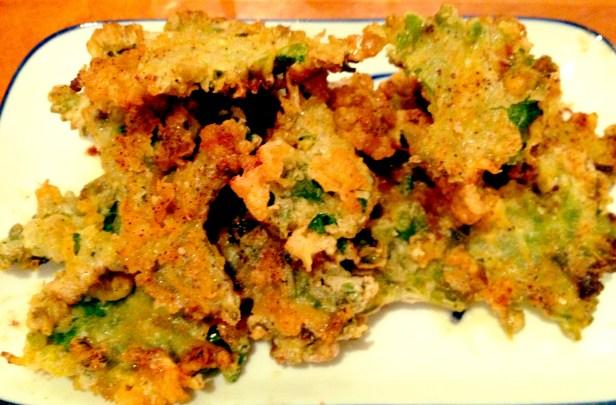 """Crispy """"Fried Chicken"""" Kale"""