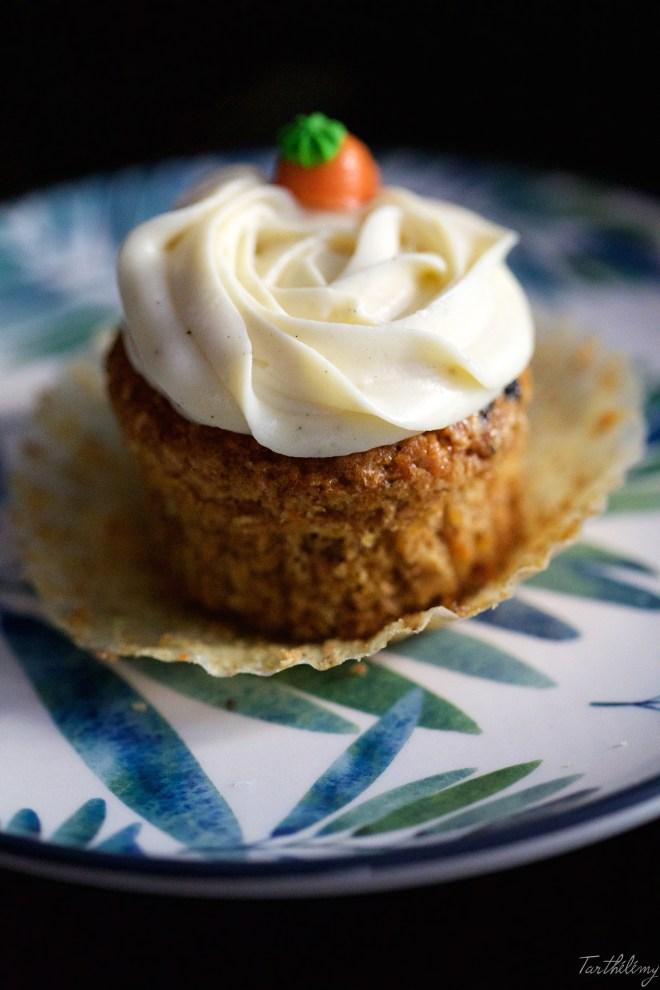 cupcakes de zanahoria y calabaza