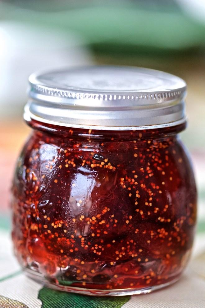 Mermelada de higos y miel