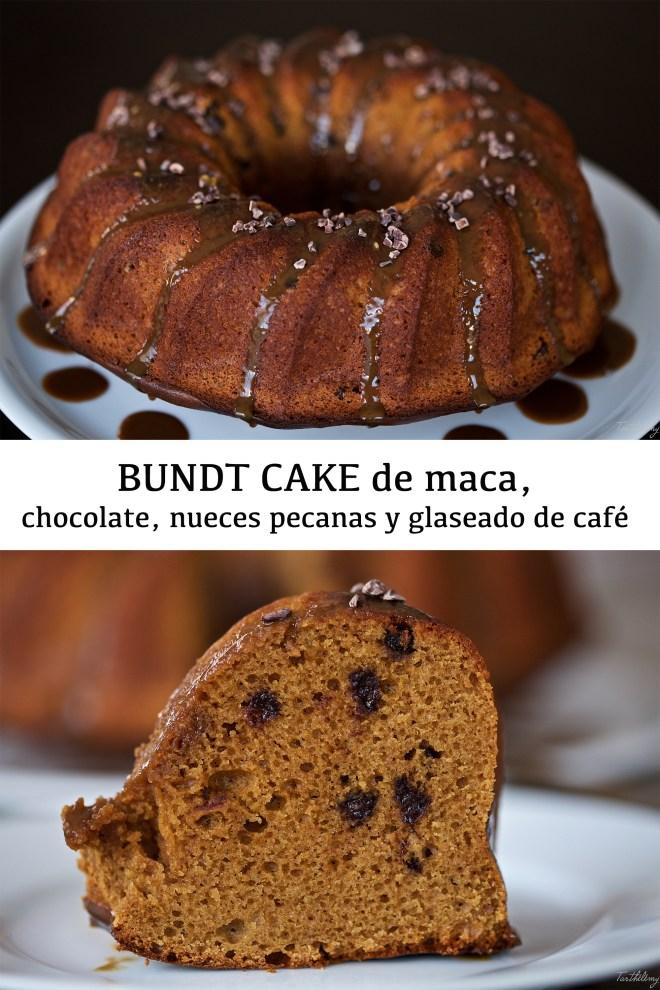 Bundt cake de maca y café