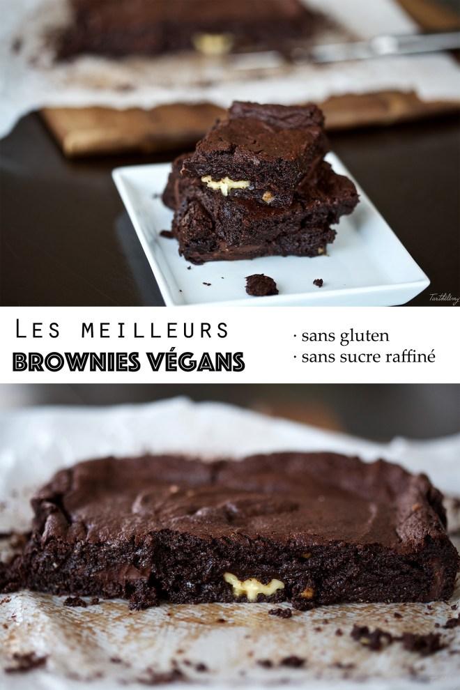 Les meilleurs brownies vegans et sans gluten
