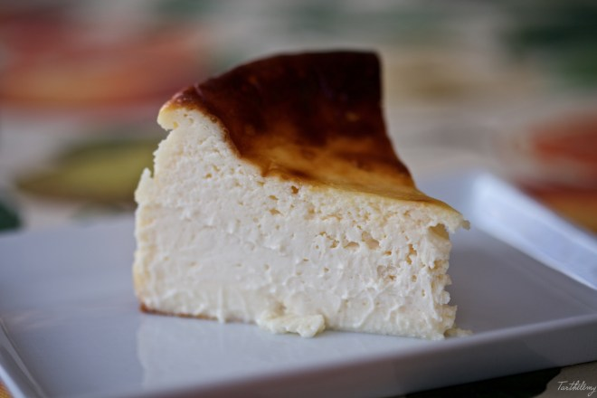 Tarta de queso La Viña
