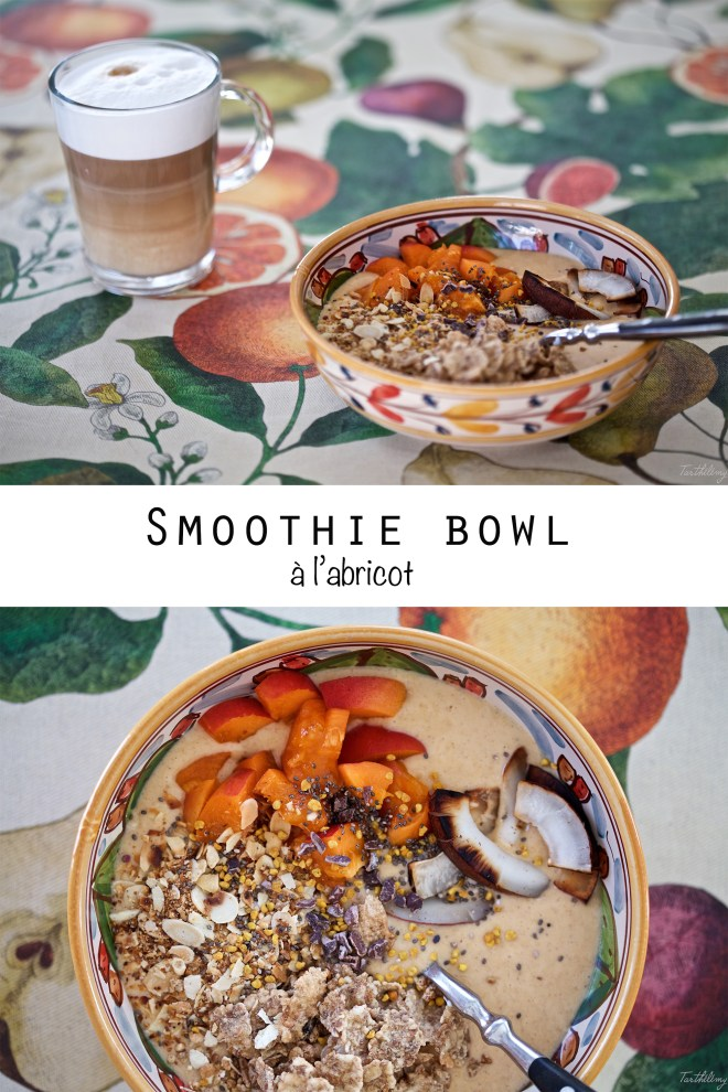 Smoothie bowl à l'abricot