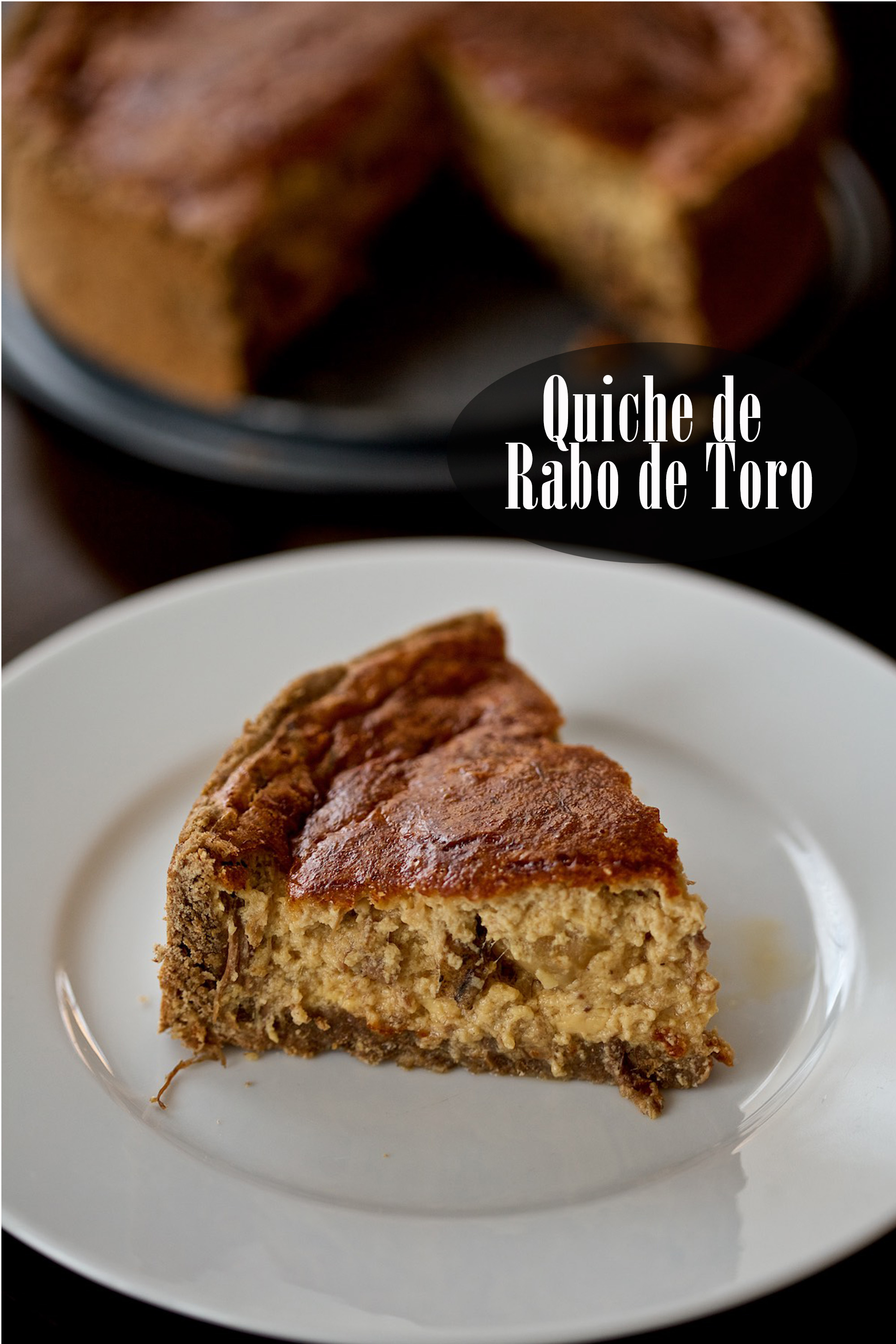 Quiche de rabo de toro (+ Vídeo HD)