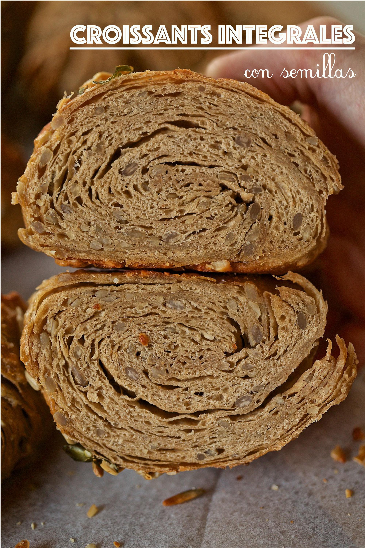 Croissants integrales con semillas fáciles