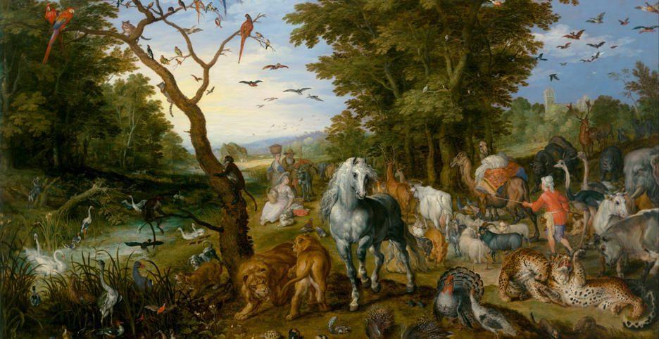 أول حديقة حيوان