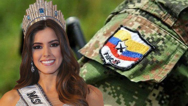 حركة مسلحة تدعو ملكة جمال الكون للمشاركة بحل الصراع في كولومبيا
