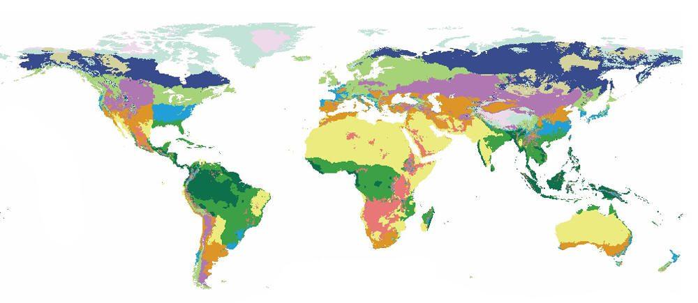 """أطلس جديد يحذر من """"تغييرات مذهلة"""" في جغرافية الارض"""