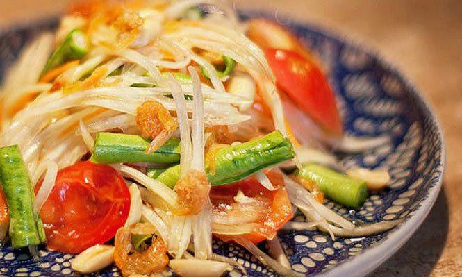 أغرب المكونات المستخدمة في الأطباق التايلندية