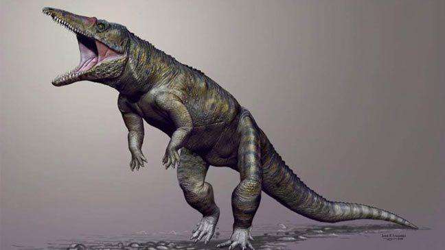 التماسيح العملاقة كانت تهيمن على العالم قبل الديناصورات
