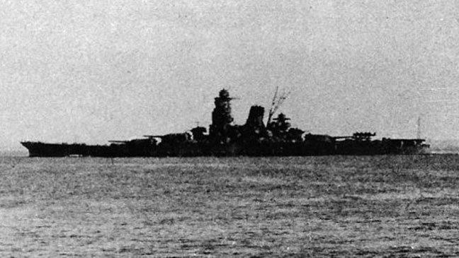 العثور على حطام أكبر سفينة حربية يابانية غرقت في الحرب العالمية الثانية
