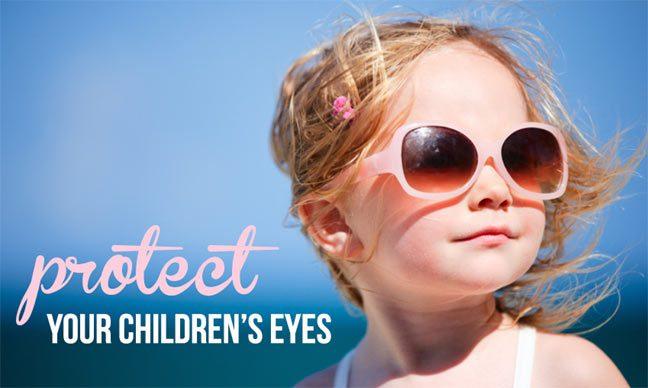 أهم النصائح لحماية عيون الأطفال