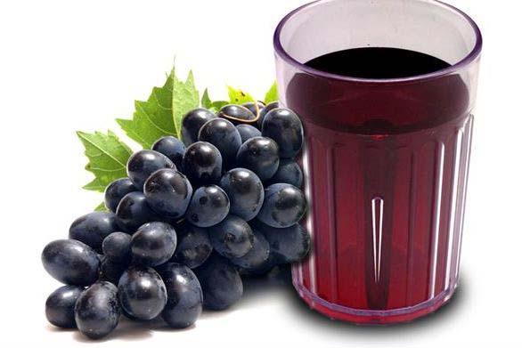 عصير العنب يخفض ارتفاع ضغط الدم