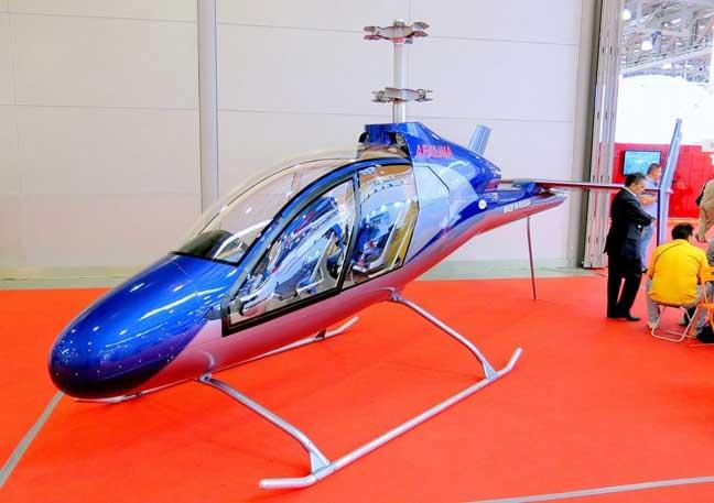 شركة روسية تكشف عن أرخص طائرة مروحية في العالم