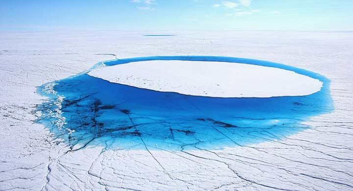اكتشاف سر اختفاء بحيرات جزيرة غرينلاند