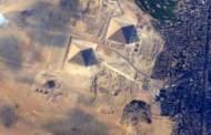 صور مدهشة للإهرامات المصرية من محطة الفضاء الدولية